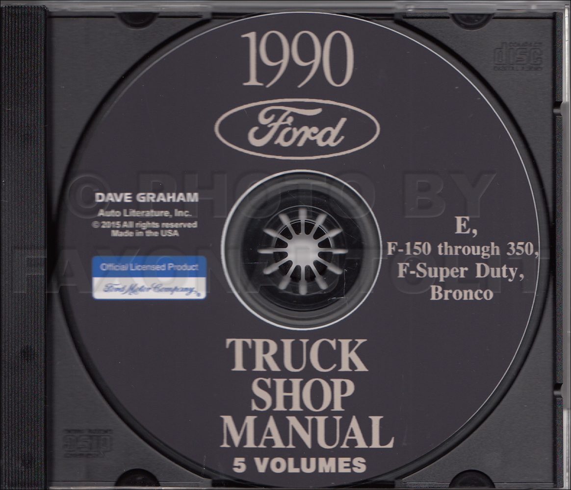 1990 Ford Econoline Foldout Wiring Diagram Van E150 E250