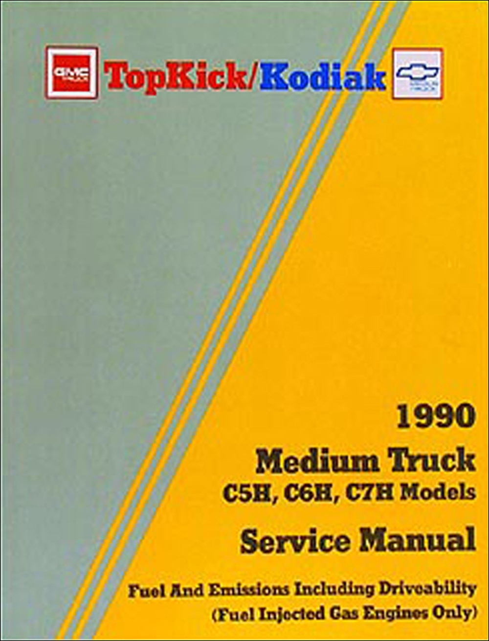 1990 GMC Topkick & Chevy Kodiak Repair Manual Original