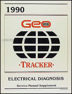 1990    Geo       Tracker       Wiring       Diagrams       Electrical    Diagnosis