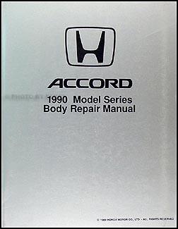 1990-1993 Honda Accord Body Repair Manual Original