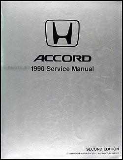 1990 honda accord repair shop manual original rh faxonautoliterature com 1990 honda accord ex owners manual 2018 Honda Accord