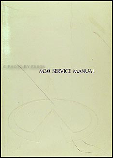 infiniti m body repair shop manual original 1990 infiniti m30 repair shop manual original