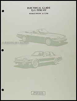 1990 jaguar xjs electrical guide wiring diagram original rh faxonautoliterature com 1989 Jaguar XJS 1990 jaguar xjs wiring diagram pdf