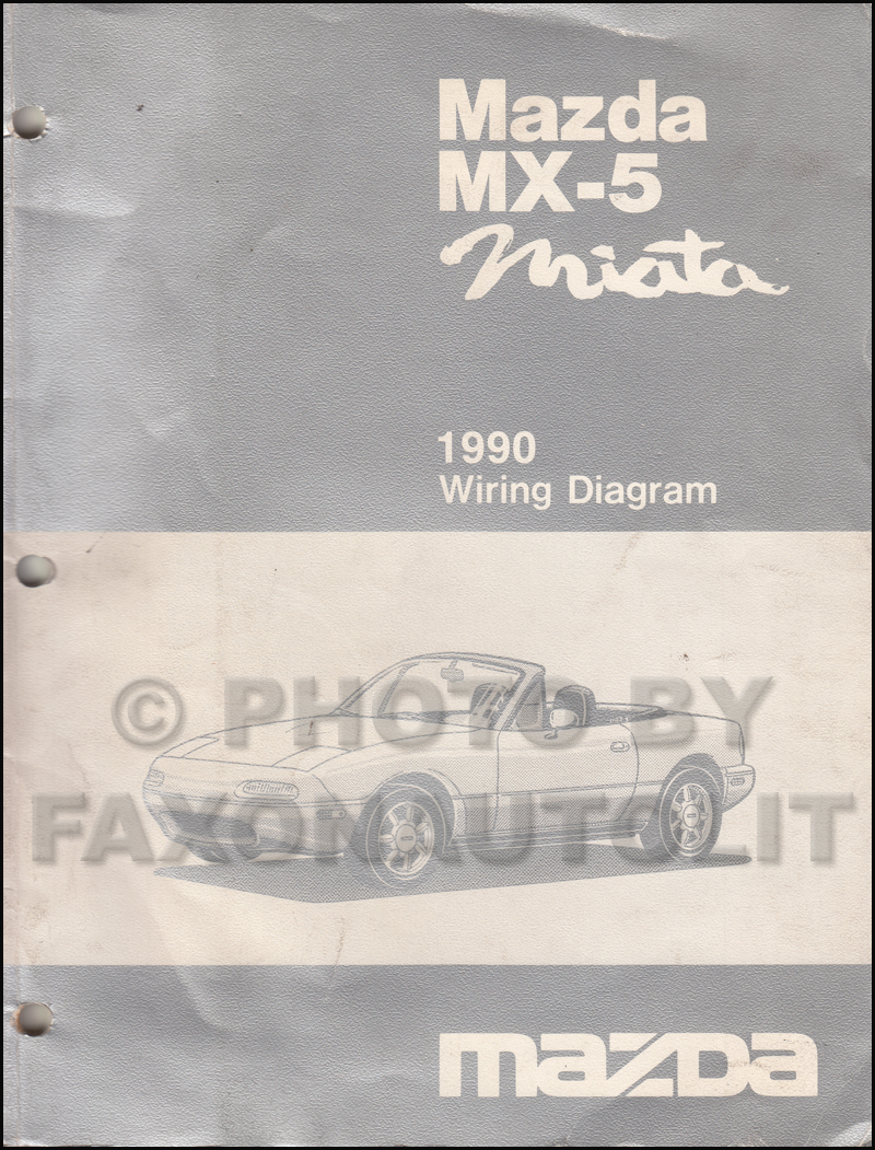 1990MazdaMX5MiataOWD 1990 mazda mx 5 miata wiring diagram manual original both 1990 mazda miata wiring diagram at soozxer.org