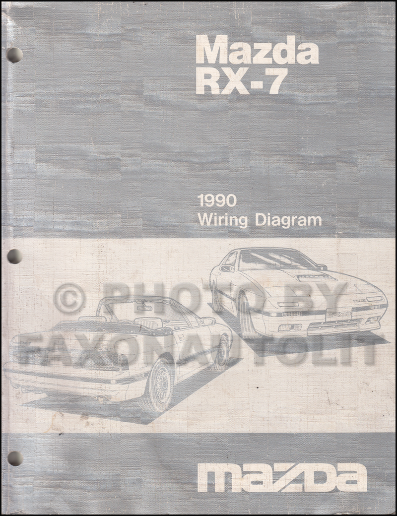 1990 mazda rx 7 wiring diagram manual original rx7 rh faxonautoliterature com