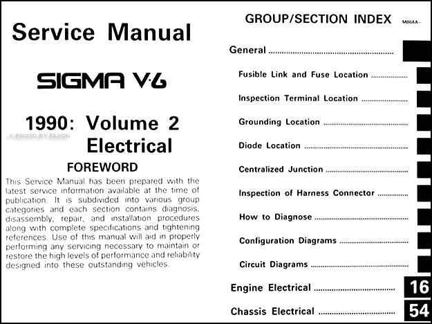 service manual pdf 1990 mitsubishi sigma v6 repair. Black Bedroom Furniture Sets. Home Design Ideas