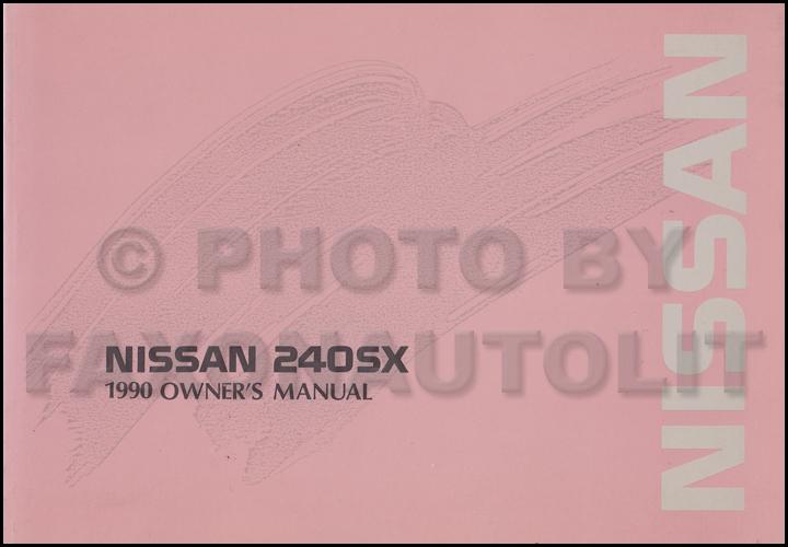 1990 nissan 240sx owner s manual original rh faxonautoliterature com 1995 240Sx 1995 240Sx