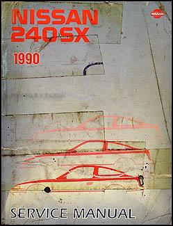1990 nissan 240sx repair shop manual original rh faxonautoliterature com 1990 nissan 240sx service manual for sale 1990 nissan 240sx service manual pdf