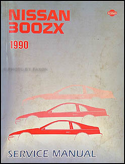1990 nissan 300zx repair shop manual original rh faxonautoliterature com nissan 300zx service manual download nissan 300zx service manual online