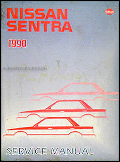 1990 nissan sentra repair shop manual original 1990 nissan sentra repair manual original sciox Gallery