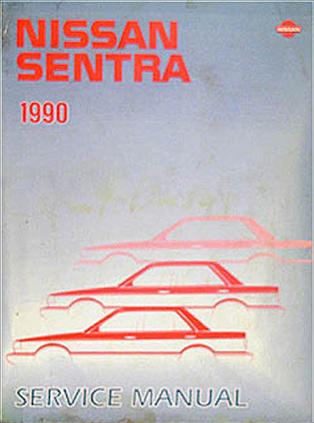1990 Nissan Sentra Repair Manual Original