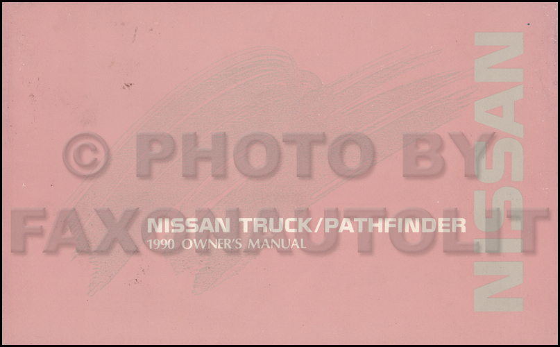 1990 Nissan Truck And Pathfinder Wiring Diagram Manual