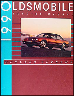 1990 oldsmobile cutlass supreme repair shop manual original rh faxonautoliterature com 1988 Oldsmobile Cutlass Supreme 96 oldsmobile cutlass supreme owner's manual