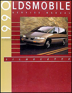 1990 oldsmobile silhouette van repair shop manual original rh faxonautoliterature com 1998 oldsmobile silhouette owner's manual 2003 oldsmobile silhouette owner's manual