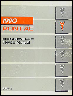 1990 Pontiac Bonneville Repair Manual Original