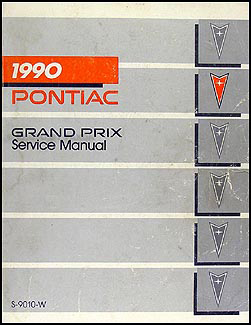 1990       Pontiac       Grand       Prix    Repair Shop Manual Original