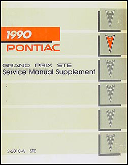1990       Pontiac       Grand       Prix    STE Repair Shop Manual Original