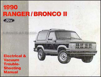 1990 ford ranger and bronco ii electrical troubleshooting manual, Wiring diagram
