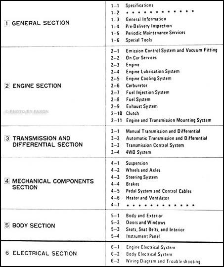 1990 Subaru Justy Repair Shop Manual Original Set