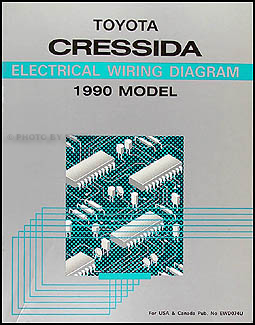 1990 toyota cressida wiring diagram manual original. Black Bedroom Furniture Sets. Home Design Ideas