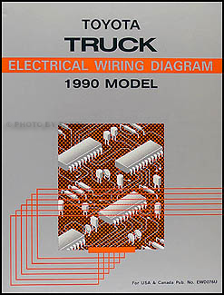 1990ToyotaTruckWD 1990 toyota pickup truck wiring diagram manual original 94 toyota pickup wiring diagram at reclaimingppi.co