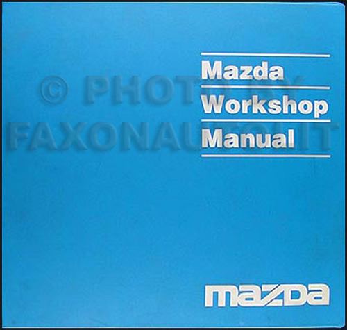 1999 mazda mx 5 miata repair shop manual original rh faxonautoliterature com 1990 Miata 1990 Miata