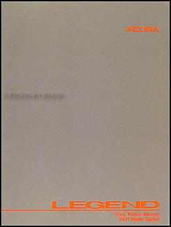 1991 1995 acura legend coupe original body repair shop manual rh faxonautoliterature com 1988 acura legend service manual acura legend workshop manual