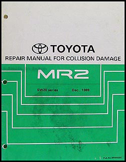 1991 1995 toyota mr2 body collision repair shop manual original rh faxonautoliterature com 1991 toyota mr2 service repair manual download 1991 toyota mr2 service repair manual download