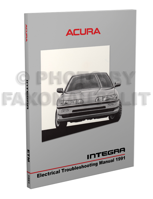 1991 Acura Integra Electrical Troubleshooting Manual