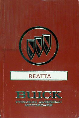 1991 buick riviera reatta repair shop manual original related products publicscrutiny Gallery
