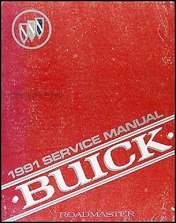 1991 buick roadmaster estate wagon repair shop manual original