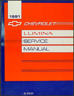 1991 Chevy Lumina Car Repair Manual Original