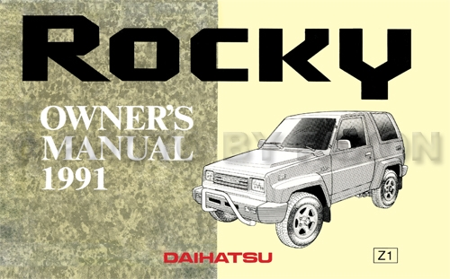 1991DaihatsuRockyROMp 1991 daihatsu rocky repair shop manual reprint 1990 daihatsu rocky radio wiring diagram at bayanpartner.co