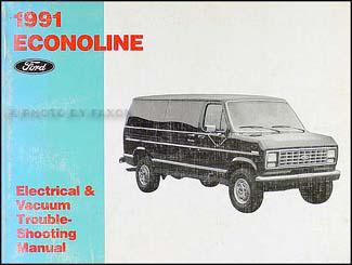 1991EconolineEVTM 1991 ford econoline van & club wagon electrical troubleshooting manual 2000 ford econoline van wiring diagram at mifinder.co