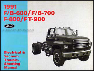 1991FBSeriesEVTM 1991 ford f b c 600 8000 medium heavy truck electrical International Truck Wiring Diagram at n-0.co
