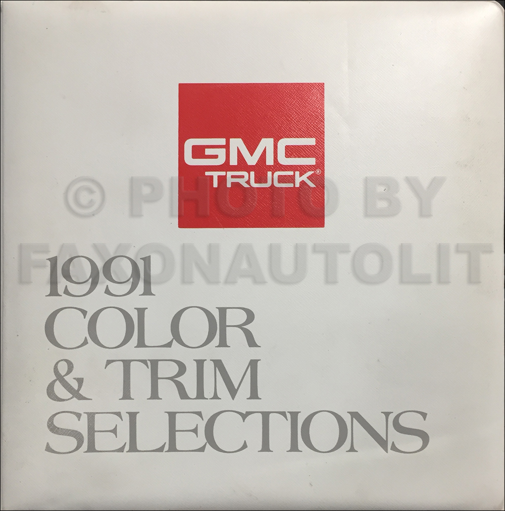 1991 Gmc C  K Sierra Pickup Wiring Diagram Manual 1500 2500 3500