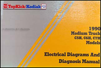 chevrolet c60 kodiak service manuals shop owner maintenance 1990 chevy kodiak gmc topkick wiring diagram manual original