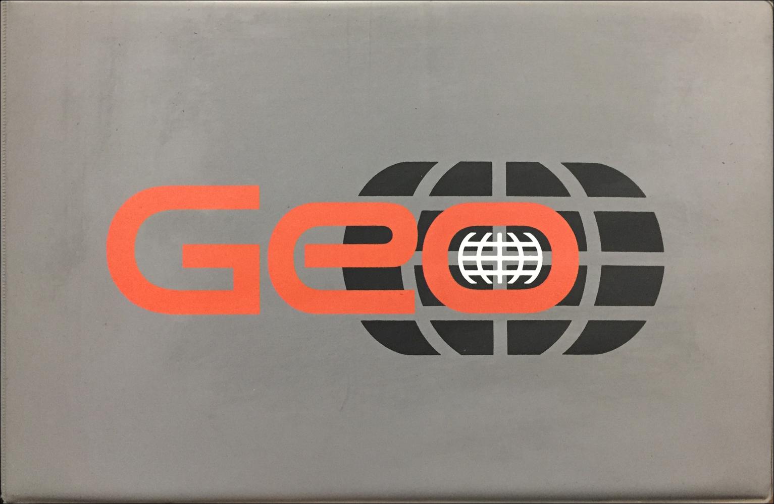 1991 geo color \u0026 upholstery dealer album data book original1991 Geo Tracker Electrical Diagnosis Manual Original #17