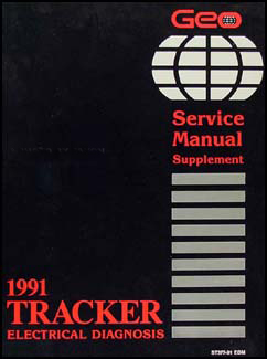 1991 Geo Tracker Electrical Diangosis Manual Wiring