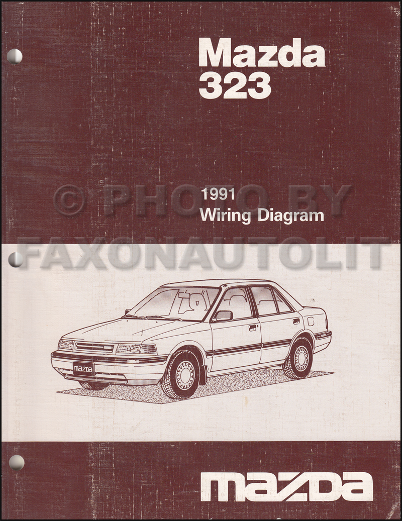 1991 mazda 323 and protege repair shop manual original. Black Bedroom Furniture Sets. Home Design Ideas