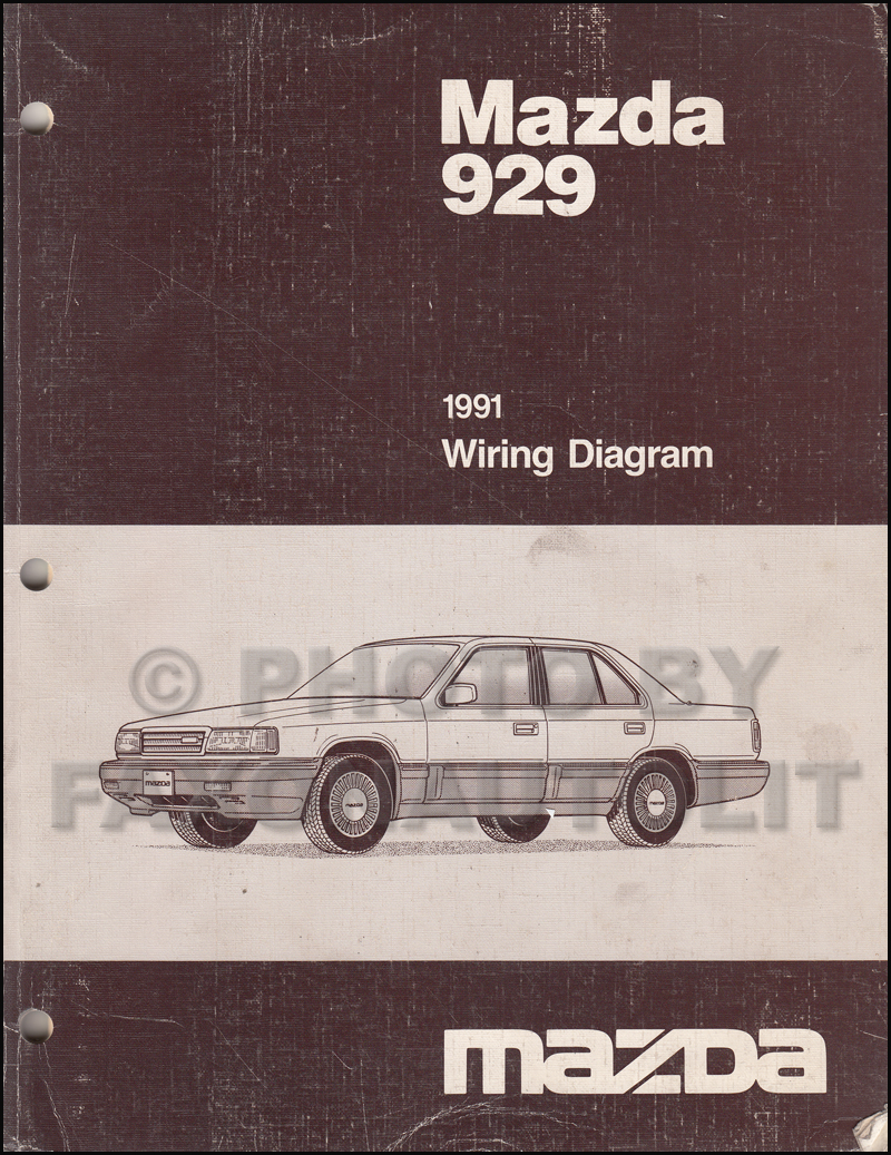 Mazda 929 Wiring Diagram Diagrams B2000 Ignition 1991 Manual Original Rh Faxonautoliterature Com Tribute