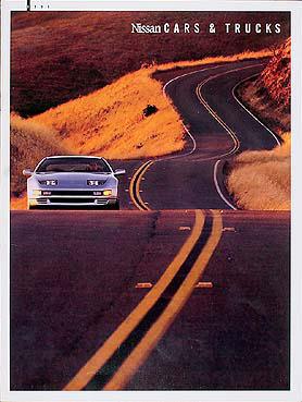 1991 Nissan Original Sales Catalog 300ZX 300 ZX/240SX/Maxima
