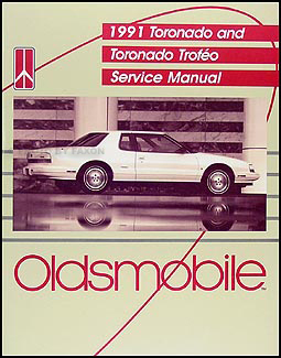 1991 oldsmobile toronado \u0026 trofeo repair shop manual original Alero 2.4 Engine Diagram 1991 oldsmobile toronado \u0026amp; trofeo repair manual original