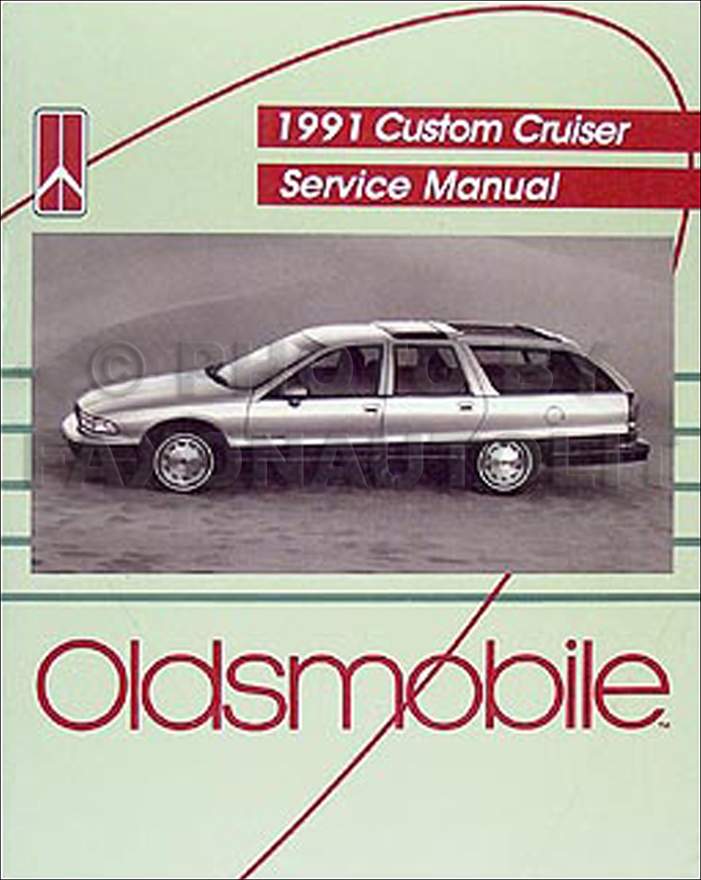 1991 Oldsmobile Custom Cruiser Repair Manual Original