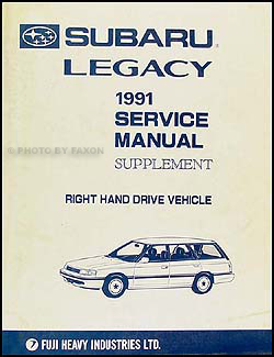 2007 subaru legacy wiring diagram 1991 subaru legacy wiring diagram 1991 subaru legacy repair shop manual 6 volume set original