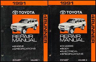 1991 toyota 4runner wiring diagram manual original rh faxonautoliterature com