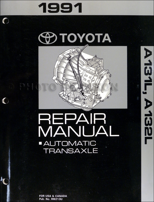 1991 toyota tercel corolla 3 speed auto transmission repair shop manual 2010 Toyota Corolla Wiring Diagram