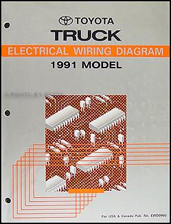 1991ToyotaTruckETM 1991 toyota pickup truck wiring diagram manual 1992 toyota pickup wiring diagram at eliteediting.co