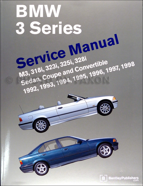1992 1998 bmw 3 series bentley repair shop manual m3 318i 323i rh faxonautoliterature com 1996 BMW 328Is Performance 2009 BMW 328I Engine Diagram