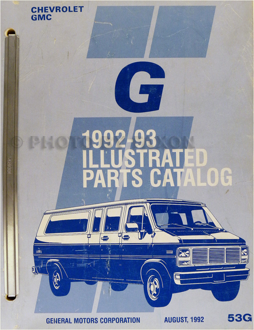 1993 Fuel  U0026 Emission Manual Ck Pickup Blazer Suburban Astro S  T G P